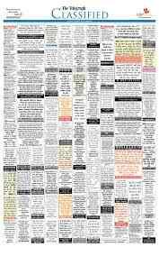 Telegraph Classified Ad